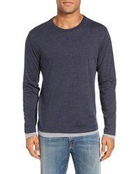 Tailor Vintage | Blue Reversible T-shirt for Men | Lyst