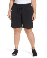 Zella | Black Outside Adventures Bermuda Shorts | Lyst