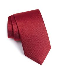 Eton of Sweden | Herringbone Textured Silk Tie for Men | Lyst