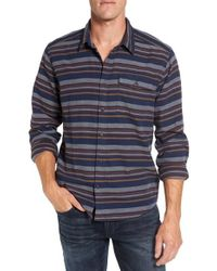 Patagonia | Blue Regular Fit Organic Cotton Flannel Shirt for Men | Lyst