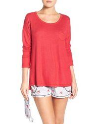 Kensie | Multicolor Short Pajamas & Eye Mask | Lyst