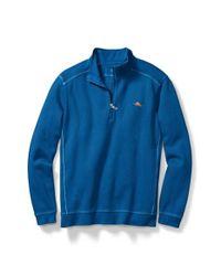 Tommy Bahama | Blue Nassau Quarter Zip Pullover for Men | Lyst