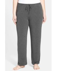 DKNY - Gray 'urban Essentials' Pants - Lyst
