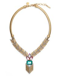 Loren Hope - Metallic 'eden' Jeweled Y-necklace - Lyst