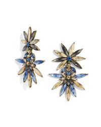 BaubleBar - Blue 'halcyon' Drop Earrings - Lyst