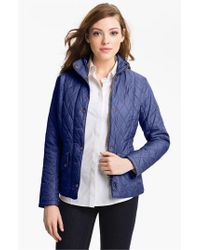 Barbour | Blue Cavalry Flyweight Quilt Jacket | Lyst