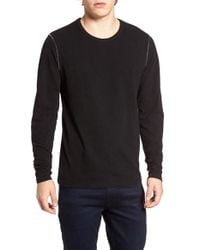 Threads For Thought | Red Long Sleeve Crewneck T-shirt for Men | Lyst