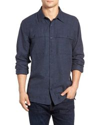 Threads For Thought - Blue Chambray Work Shirt for Men - Lyst
