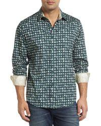 Robert Graham | Green City Of Masks Classic Fit Sport Shirt for Men | Lyst