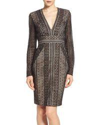 Bardot | Black Allegra Lace Sheath Dress | Lyst