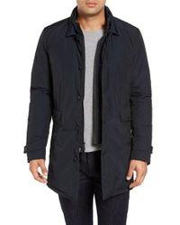 Woolrich - Blue Turner Car Coat for Men - Lyst