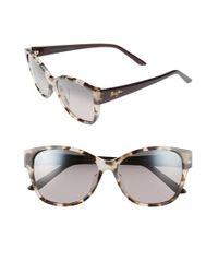 Maui Jim | Gray Summer Time 54mm Polarizedplus2 Cat Eye Sunglasses | Lyst