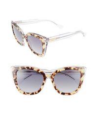 Sonix | Metallic Lafayette 53mm Gradient Cat Eye Sunglasses | Lyst