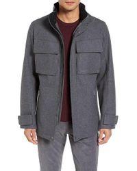 Victorinox | Gray Victorinox Swiss Army Highlander Vii Wool Blend Jacket for Men | Lyst