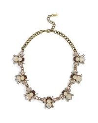 BaubleBar - Gray Abeja Crystal Collar Necklace - Lyst