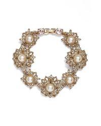 Marchesa | Metallic Large Flex Bracelet | Lyst