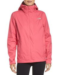 The North Face | Pink Venture 2 Waterproof Jacket | Lyst