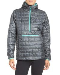 Patagonia | Gray Nano Puff Bivy Water Resistant Jacket | Lyst