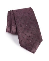 Calibrate | Pink Handmade Dot Silk Tie for Men | Lyst
