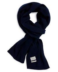 Rag & Bone | Blue Standard Issue Merino Wool Scarf for Men | Lyst