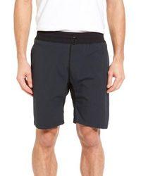 Steven Alan | Black Stretch Nylon Shorts for Men | Lyst