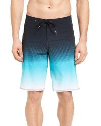 Quiksilver | Blue Tech Vee Board Short for Men | Lyst