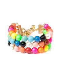 Venessa Arizaga | Multicolor Candy Queen Imitation Pearl Bracelet | Lyst