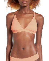 Rip Curl | Multicolor Classic Surf Cross-back Bikini Top | Lyst