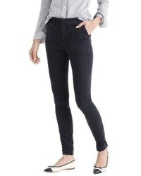 J.Crew | Multicolor Zip Ankle Stretch Skinny Cargo Pants | Lyst