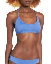 Rip Curl   Blue Classic Surf Bralette Bikini Top   Lyst