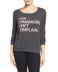 Chaser | Black Can't Complain Sweatshirt | Lyst