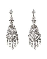 Ben-Amun | Metallic Ben X Belle Epoque Swarovski Crystal Chandelier Earrings | Lyst