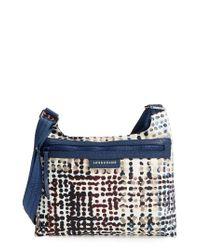 Longchamp   Blue Le Pliage - Neo Fantasie Shoulder/crossbody Bag   Lyst