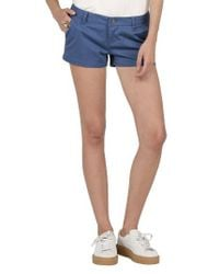 Volcom | Blue Frochickie Chino Shorts | Lyst
