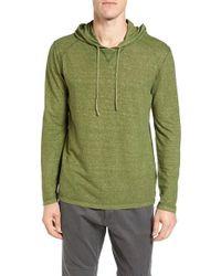 Gramicci | Green Damon Regular Fit Hemp & Organic Cotton Pullover Hoodie for Men | Lyst