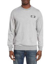 RVCA   Gray Petrol Sweatshirt for Men   Lyst