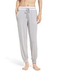 DKNY | Gray Lounge Pants | Lyst