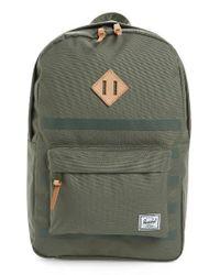 Herschel Supply Co. | Green Heritage Offset Backpack | Lyst