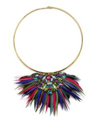 Suzanna Dai   Blue Valparaiso Collar Necklace   Lyst