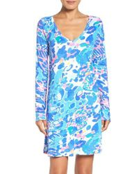 Lilly Pulitzer | Blue Lilly Pulitzer Paradis Dress | Lyst