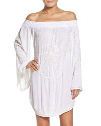 Lilly Pulitzer | White Lilly Pulitzer Nita Cover-up Tunic | Lyst