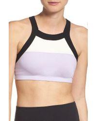 Beyond Yoga | Purple Kate Spade New York & Colorblock Sports Bra | Lyst
