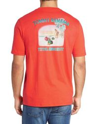 Tommy Bahama | Orange Total Knockout Graphic T-shirt for Men | Lyst