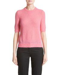 Michael Kors | Pink Cloud Cashmere Blend Sweater | Lyst