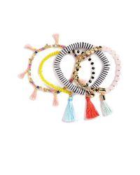 BaubleBar | Black Quinn Set Of 4 Bracelets | Lyst