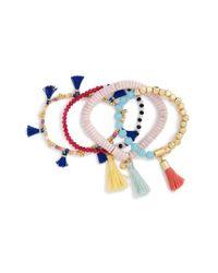 BaubleBar   Pink Quinn Set Of 4 Bracelets   Lyst