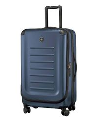 Victorinox | Blue Victorinox Swiss Army Spectra 2.0 30 Inch Hard Sided Rolling Travel Suitcase for Men | Lyst