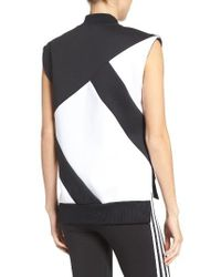 Adidas Originals | Black 3-stripes Vest | Lyst