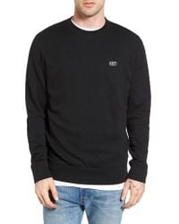 Obey | Black Park Sweatshirt for Men | Lyst