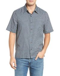 Nat Nast | Blue Florida Silk Blend Camp Shirt for Men | Lyst